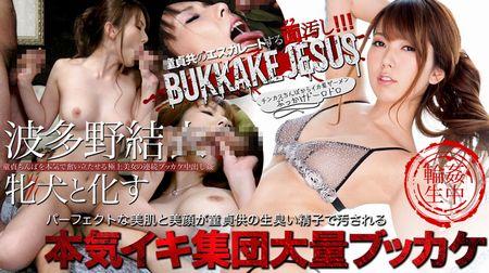 波多野結衣メス犬と化す~本気イキ集団大量ブッカケ中出し フルHD vol.02